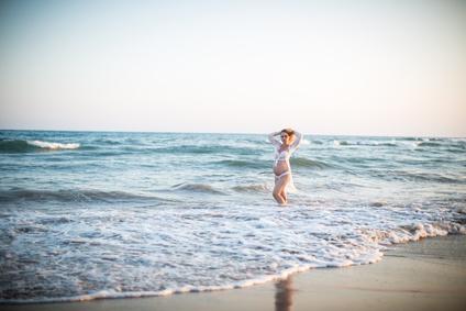Durch bildhafte Vorstellungen lassen sich jegliche Empfindungen bei der Geburt in wunderbare Energien verwandeln Bildquelle: Fotolia_212044113_@Kristin Gründler_XS